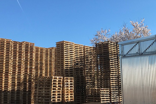 Recovery of pallets